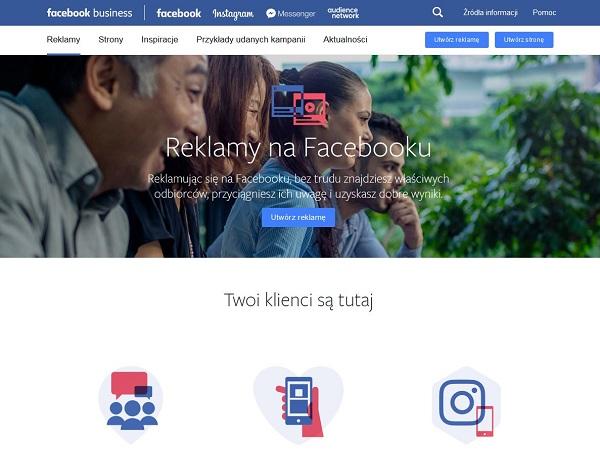 Reklama na Facebok - Kampanie reklamowe Facebook Ads