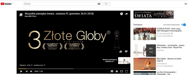 Reklama na YouTube - Kampania reklamowa YouTube
