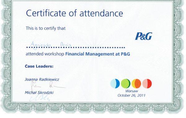 PG financial Managemnt