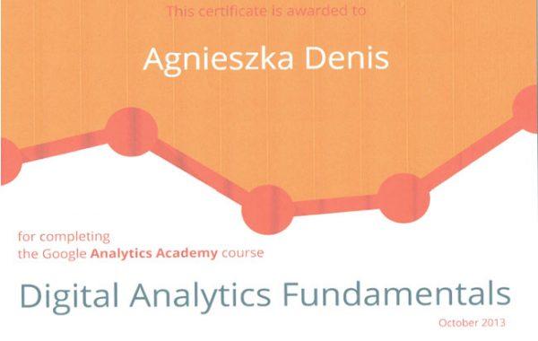 Analytics Fundamentals