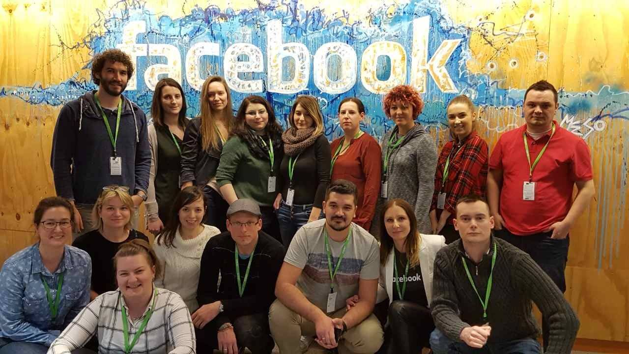 Agnieszka Denis Facebook Dublin konferencja team SM